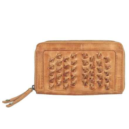 Day & Mood Lily Wallet - Leather in Camel - Closeouts