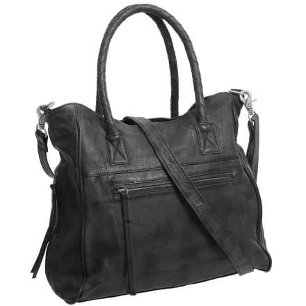 Day & Mood Phoebe Tote Bag - Leather (For Women) in Black - Closeouts