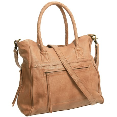 Day & Mood Phoebe Tote Bag - Leather (For Women) in Camel
