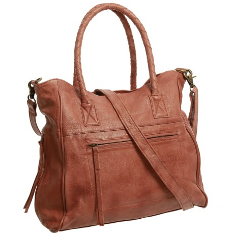 Day & Mood Phoebe Tote Bag - Leather (For Women) in Cognac