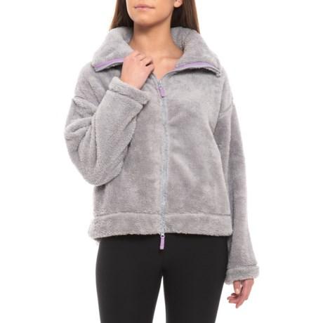 Image of Dazed Hi Neck Jacket (For Women)