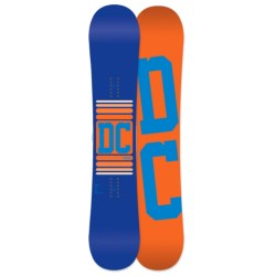 DC Shoes 2013 Focus Snowboard in 159W Multi/Red Bottom