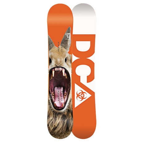 DC Shoes 2013 PBJ Snowboard in 157 Multi/Blue/White Bottom