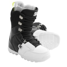 DC Shoes 2013 Rogan Snowboard Boots (For Men) in Black/White - Closeouts