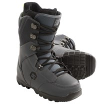 DC Shoes 2013 Rogan Snowboard Boots (For Men) in Dark Grey/Black - Closeouts