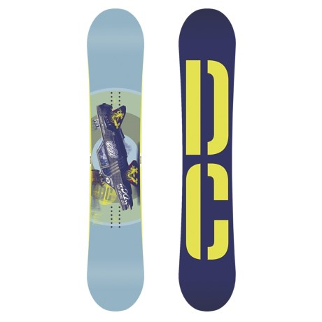 DC Shoes 2013 Tone Snowboard in 154W Multi