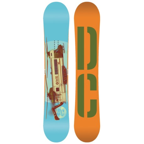 DC Shoes 2013 Tone Snowboard in 154W Multi
