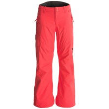 DC Shoes Ace K Snowboard Pants - Waterproof, Insulated (For Girls) in Hot Coral - Closeouts