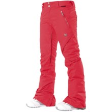 DC Shoes Ace S 13 Snowboard Pants - Insulated (For Women) in Red - Closeouts