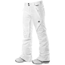 DC Shoes Ace S 13 Snowboard Pants - Insulated (For Women) in White - Closeouts