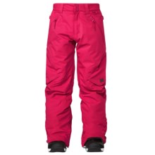 DC Shoes Ace Snowboard Pants - Insulated (For Girls) in Bright Rose - Closeouts