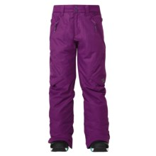 DC Shoes Ace Snowboard Pants - Insulated (For Girls) in Gloxinia - Closeouts
