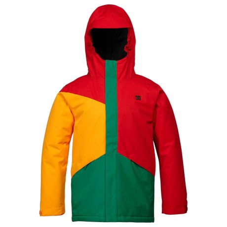 DC Shoes Amo Snowboard Jacket - Insulated (For Boys) in Chinese Red