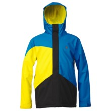 DC Shoes Amo Snowboard Jacket - Insulated (For Men) in Methyl Blue - Closeouts