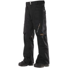 DC Shoes Amp Snowboard Pants - Waterproof (For Men) in Black - Closeouts