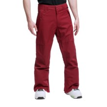 DC Shoes Banshee 13 Snowboard Pants (For Men) in Biking Red - Closeouts