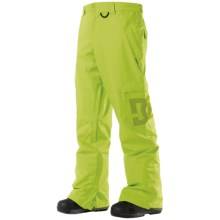 DC Shoes Banshee 13 Snowboard Pants (For Men) in Lime - Closeouts