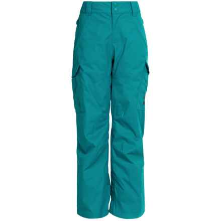 DC Shoes Banshee Snow Pants (For Big Boys) in Harbor Blue - Closeouts