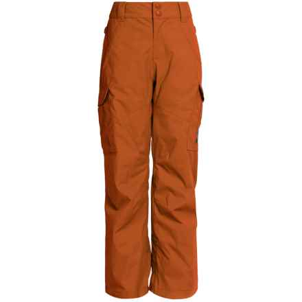 DC Shoes Banshee Snow Pants (For Big Boys) in Mandarin - Closeouts