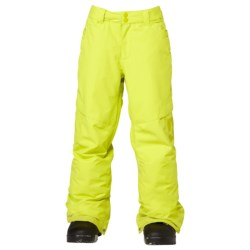 DC Shoes Banshee Snowboard Pants - Insulated (For Boys) in Chinese Red