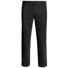 DC Shoes Basic Chino Pants - Straight Leg (For Men) in Black - Closeouts