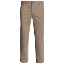 DC Shoes Basic Chino Pants - Straight Leg (For Men) in Khaki - Closeouts