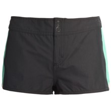 DC Shoes Beckett Boardshorts - Back Tie (For Women) in Black - Closeouts