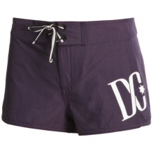 DC Shoes Belk Boardshorts (For Women) in Night Shade - Closeouts
