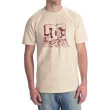 DC Shoes Berland T-Shirt - Short Sleeve (For Men) in Natural - Closeouts