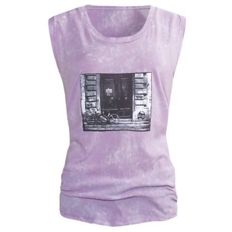 DC Shoes Bike Muscle T-Shirt - Sleeveless (For Women) in Orchid