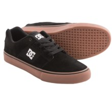 DC Shoes Bridge Skate Shoes (For Men) in Black/White/Gum - Closeouts