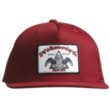 DC Shoes Bunkeroo Hat (For Men) in Deep Red - Closeouts