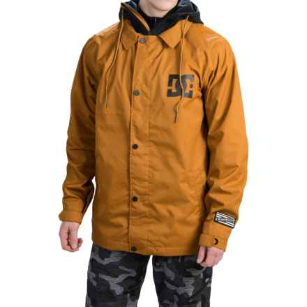 DC Shoes Cash Only Snowboard Jacket - Waterproof (For Men) in Cathay Spice - Closeouts