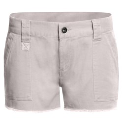 DC Shoes Catch Me Cargo Shorts - Brushed Twill (For Women) in Victorias Black