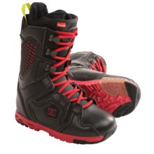 DC Shoes Ceptor Snowboard Boots - RECCO®, Alpha Liner (For Men) in Black/Red - Closeouts