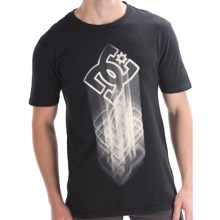 DC Shoes Changeling T-Shirt - Short Sleeve (For Men) in Black - Closeouts