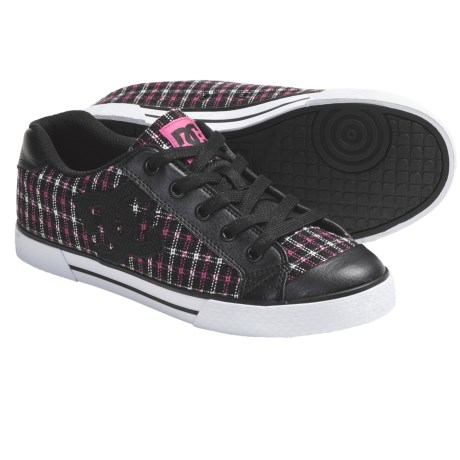 DC Shoes Chelsea SE Shoes (For Women) in Black/Pink