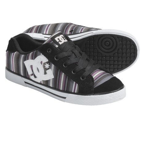 DC Shoes Chelsea SE Shoes (For Women) in Black Stripe