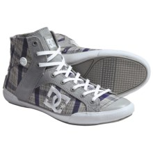 DC Shoes Chelsea Zero High SE Skate Shoes (For Women) in Armor/White - Closeouts