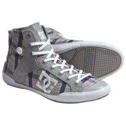 DC Shoes Chelsea Zero High SE Skate Shoes (For Women) in Armor/White