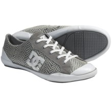 DC Shoes Chelsea Zero Low LE Skate Shoes (For Women) in Wild Dove/White - Closeouts