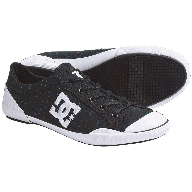 DC Shoes Chelsea Zero Low SE Skate Shoes (For Women) in Black/Stripe