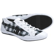 DC Shoes Chelsea Zero Low SE Skate Shoes (For Women) in Black/White/Plaid - Closeouts