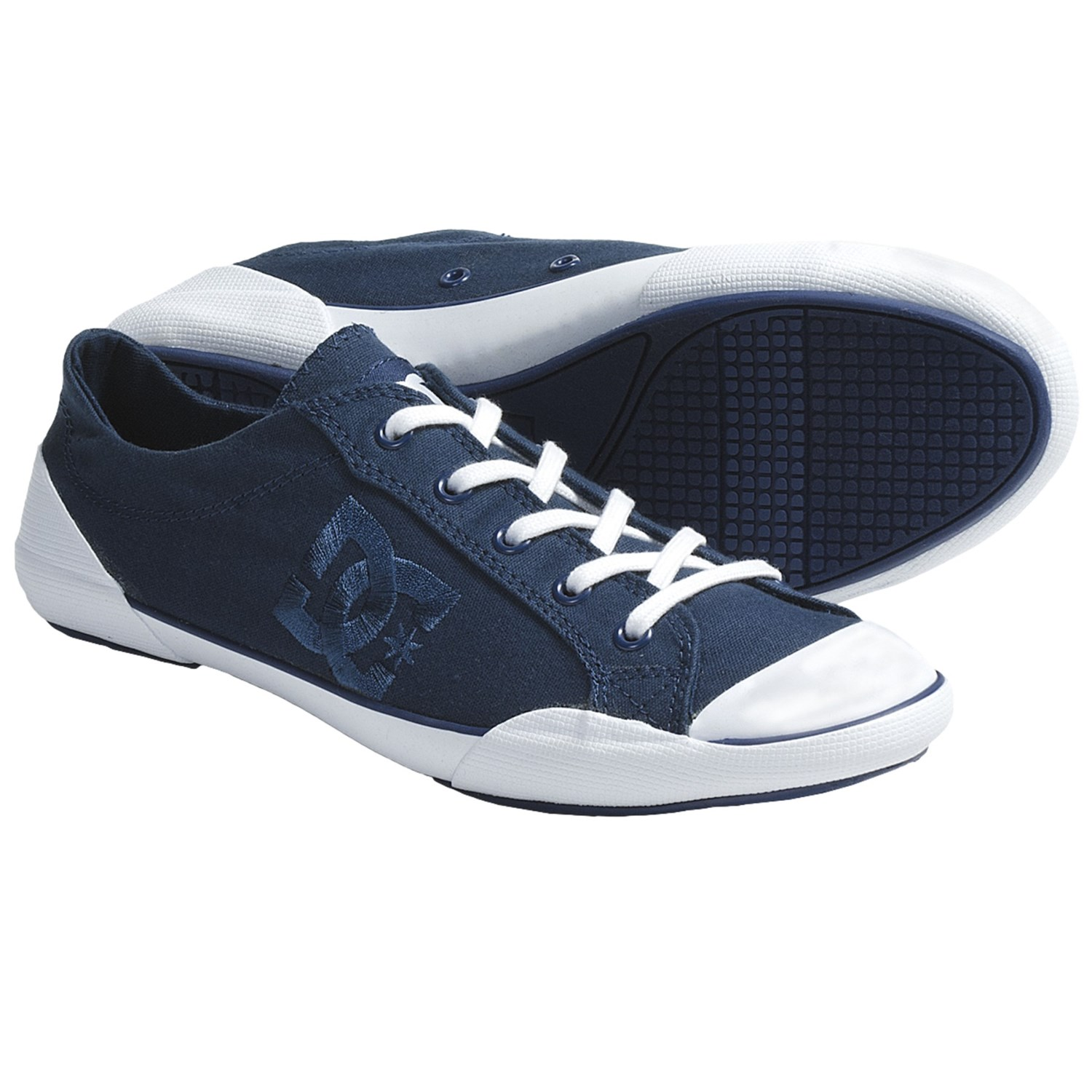 DC Shoes Chelsea Zero Low Skate Shoes (For Women) in Estate Blue