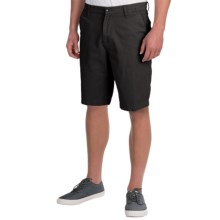 DC Shoes Chino Shorts - Slim (For Men) in Black - Closeouts