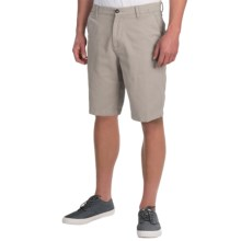 DC Shoes Chino Shorts - Slim (For Men) in Grey - Closeouts