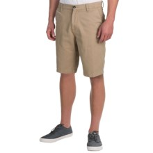 DC Shoes Chino Shorts - Slim (For Men) in Khaki - Closeouts