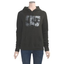 DC Shoes Cimmaron Pullover Hoodie Sweatshirt (For Women) in Black Olive - Closeouts