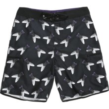 DC Shoes Circus of Mutants Board Shorts (For Men) in Black - Closeouts