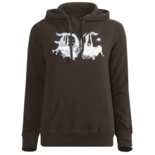 DC Shoes Citizen Hoodie Sweatshirt (For Women) in Black Olive - Closeouts